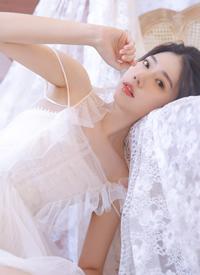 白纱蕾丝美女手机壁纸图片