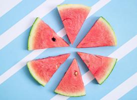 夏日清涼西瓜高清圖片欣賞