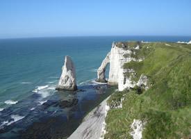 法國埃特爾塔海岸美景桌面壁紙