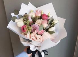 一束適合七夕節的美麗花束圖片欣賞