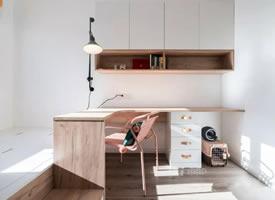 儿童房书桌设计装修效果图欣赏