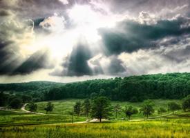 絢麗自然風景高清桌面壁紙