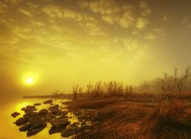 一組清晨朝霞日出風光高清圖片欣賞