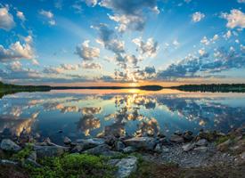 美麗的大自然風光美景圖片