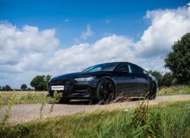 黑化Audi A7 Sportback Quattro S Line的顏