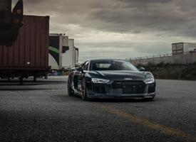 Audi R8 V10 克爾維特c8圖片欣賞