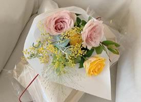 色彩柔和的九款花束圖片欣賞