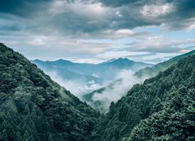 大自然唯美山脈風景圖片欣賞