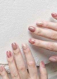 短指甲小仙女們的秋季美甲參考