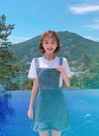 韩国麻豆发型推荐 甜美可爱系 短发 