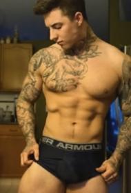 纹身帅哥图片 欧美纹身男孩Jake Andrich的照片图片