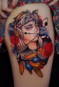 西安纹身 西安纹身店木子刺青的18款纹身作品
