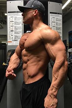 歐美健美男神肌肉男體寫真照片