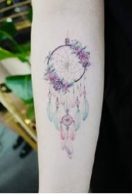 14款唯美的女生小清新纹身图片