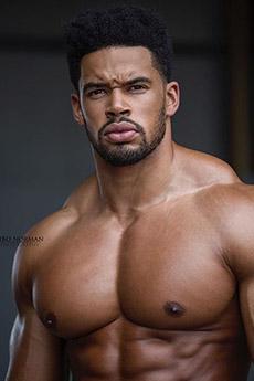 性感歐美黑人猛男圖片