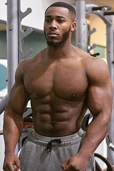 黑人壯漢肌肉男照片