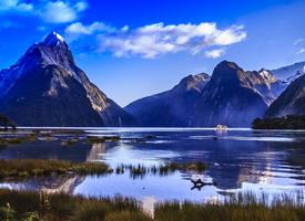 新西蘭唯美高山風景圖片欣賞