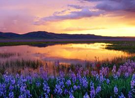 一组唯美浪漫夕阳风景图片欣赏