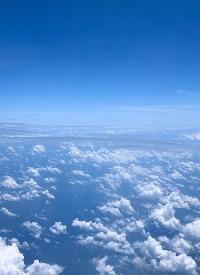 一组蓝天白云的美景拍摄图片