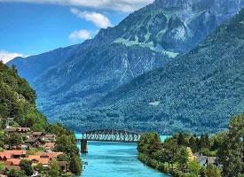 瑞士因特拉肯,住进童话世界里
