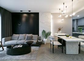 78平现代风两居,注重品质和格调的一人居