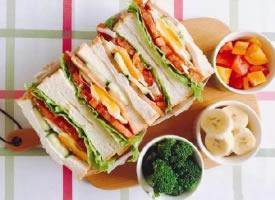 无法抵挡对三明治的喜欢