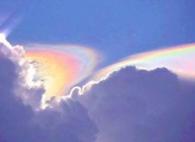 一組浪漫的彩虹壁紙圖片