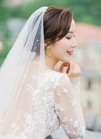 一組簡單清爽的新娘發型圖片
