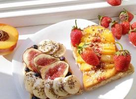 一份营养元气的早餐图片欣赏