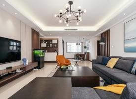 简约现代风三居室 精致浪漫的自然质感