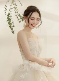 大氣奢華端莊雅韻中西新娘發型圖片