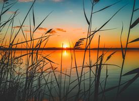 一組絢麗唯美的黃昏美景圖片欣賞