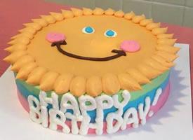 一組超級可愛童趣生日蛋糕圖片