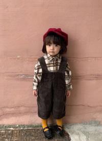 一組英倫風的小女孩發型圖片