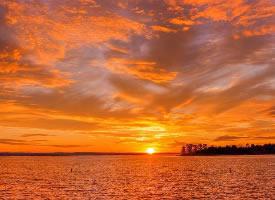 一组超美的夕阳图片