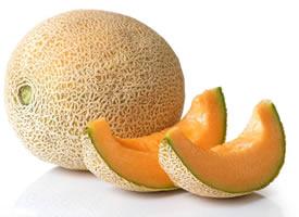 一组甜美无比 甘甜适口的哈密瓜图片