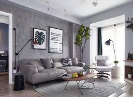 81平北歐風兩居,簡潔有質感的家