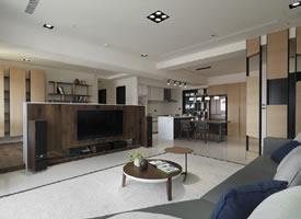 原木气质私宅,自然纯粹的木质纹理