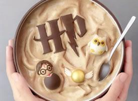 炎炎夏日来一份可爱的奶昔图片