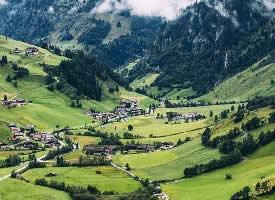 美如畫的奧地利風景圖片