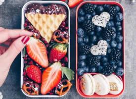 吃的不是水果是艺术的水果拼盘