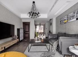 110平灰調北歐風設計,極簡有質感的家