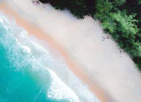 一組航拍美麗的海灘圖片欣賞