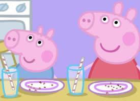 一组活泼可爱的小猪佩奇图片