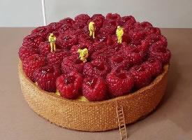 一組很有創意的甜品造型圖片