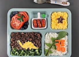 一组超可爱的儿童餐图片欣赏