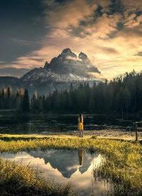 意大利的多洛米蒂山脉,藏在阿尔卑斯山深处的美景
