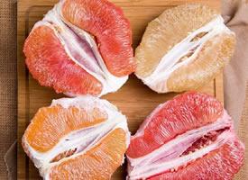 不一样的红柚,黃柚,白柚图片欣赏