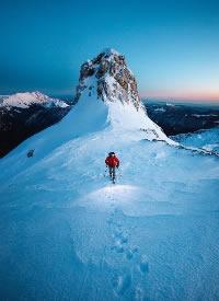 有些山之所以难翻越,是因为那个能给你勇气的人,便是你的山