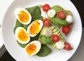 健康美味的營養早餐圖片